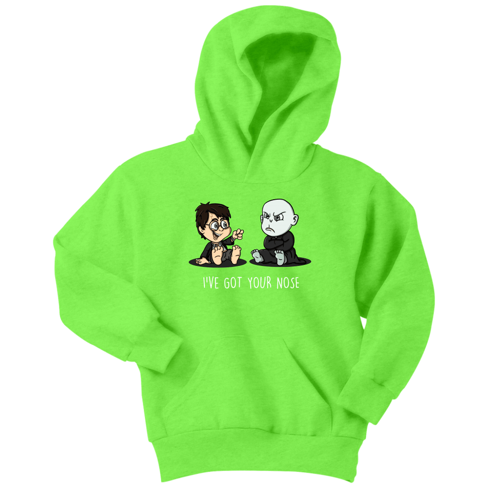 I've Got Your Nose Youth Hoodie - Youth Hoodie / Neon Green / XS - Ineffable Shop