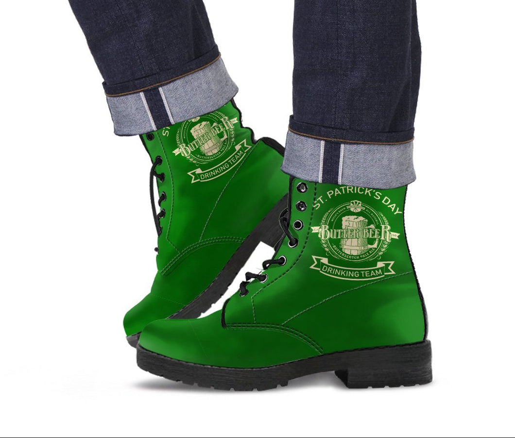 Patrick's Day Butterbeer Men's Boots