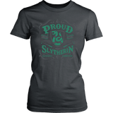 Slytherin District Womens Shirt - District Womens Shirt / Charcoal / XS - Ineffable Shop