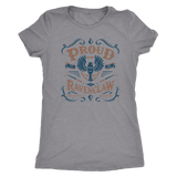 Ravenclaw Pride Next Level Womens Triblend - Next Level Womens Triblend / Heather Grey / S - Ineffable Shop
