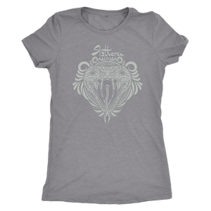 Harry Potter Vintage Slytherin Next Level Womens Triblend - Next Level Womens Triblend / Heather Grey / S - Ineffable Shop
