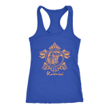 Harry Potter Vintage Ravenclaw Next Level Racerback Tank - Next Level Racerback Tank / Royal / XS - Ineffable Shop