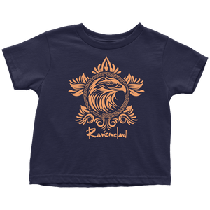 Harry Potter Vintage Ravenclaw Toddler T-Shirt - Toddler T-Shirt / Navy Blue / 2T - Ineffable Shop