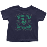 Slytherin Toddler T-Shirt - Toddler T-Shirt / Navy Blue / 2T - Ineffable Shop