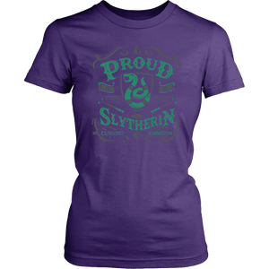 Slytherin District Womens Shirt - District Womens Shirt / Purple / XS - Ineffable Shop