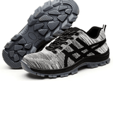 UNISEX INDESTRUCTIBLE BULLETPROOF ULTRA X PROTECTION SHOES - Gray / US6 (EU37) - Ineffable Shop
