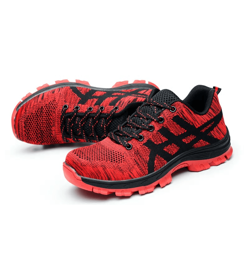 UNISEX INDESTRUCTIBLE BULLETPROOF ULTRA X PROTECTION SHOES - Red / US6 (EU37) - Ineffable Shop