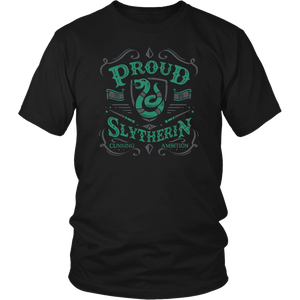Slytherin District Unisex Shirt - District Unisex Shirt / Black / S - Ineffable Shop