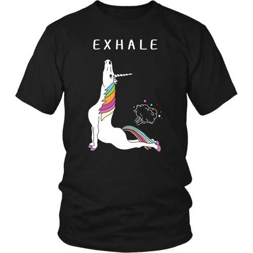 Exhale - District Unisex Shirt / Black / S - Ineffable Shop