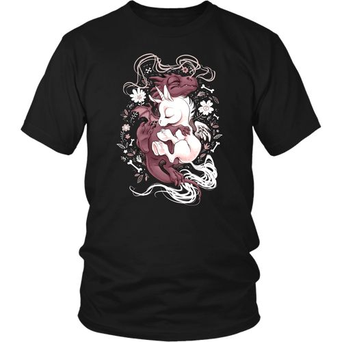 Dragon & Unicorn - District Unisex Shirt / Black / S - Ineffable Shop
