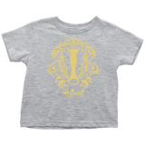 Harry Potter Vintage Hufflepuff Toddler T-Shirt - Toddler T-Shirt / Heather Grey / 2T - Ineffable Shop