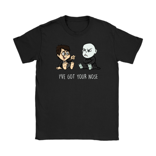 I've Got Your Nose Gildan Womens T-Shirt - Gildan Womens T-Shirt / Black / S - Ineffable Shop