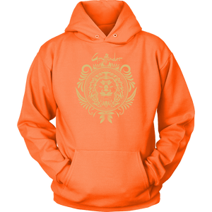 Harry Potter Vintage Gryffindor Badge Unisex Hoodie - Unisex Hoodie / Neon Orange / S - Ineffable Shop