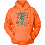Slytherin Unisex Hoodie - Unisex Hoodie / Neon Orange / S - Ineffable Shop
