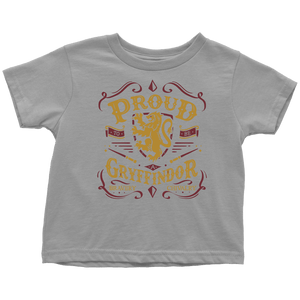 Gryffindor Pride Toddler T-Shirt - Toddler T-Shirt / Slate / 2T - Ineffable Shop