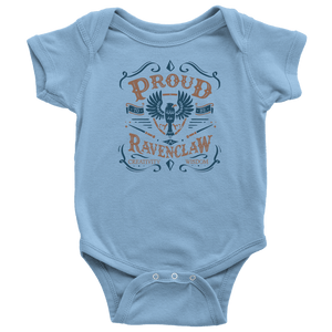 Ravenclaw Pride Baby Bodysuit - Baby Bodysuit / Light Blue / NB - Ineffable Shop