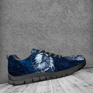 Native American Wolf Kid's Running Shoes NT100 - - Ineffable Shop