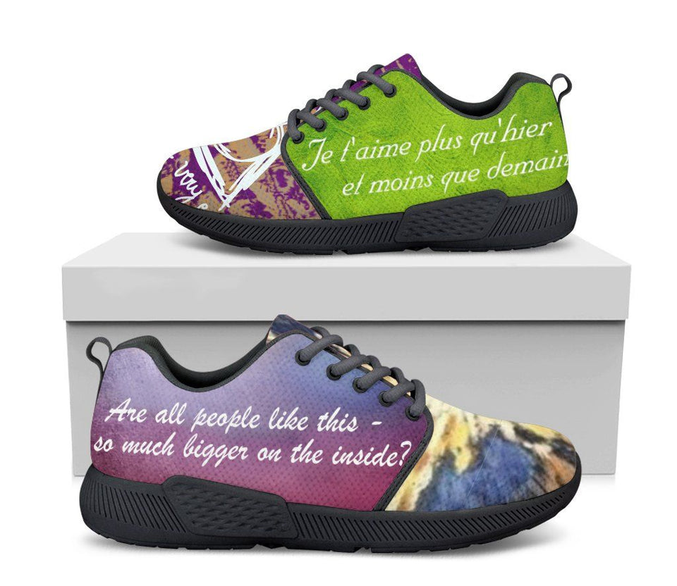 Harry Potter - Doctor Who Women's Athletic Sneakers HP0084 - - Ineffable Shop