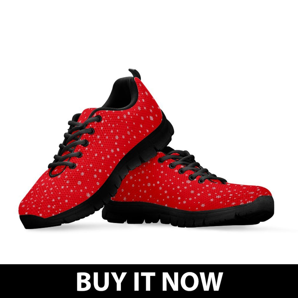 Happy Christmas Men's Running Shoes - - Ineffable Shop
