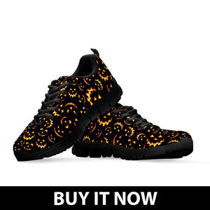 Halloween Men's Sneakers HLW015 - - Ineffable Shop