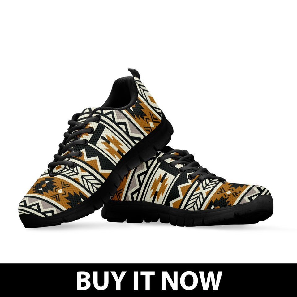 New Native American Pattern Men's Shoes NT094 - - Ineffable Shop