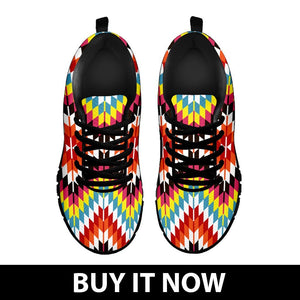 Native American Indian Men's Sneaker Design NT064 - - Ineffable Shop