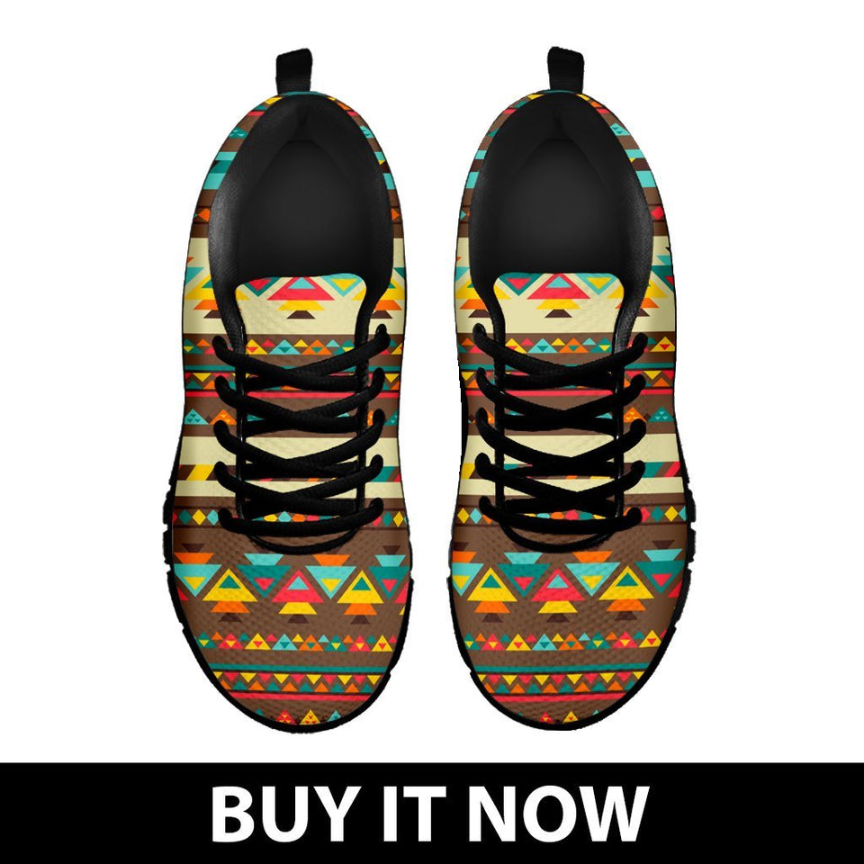 Native American Indian Pattern Kid's Shoes NT086 - - Ineffable Shop