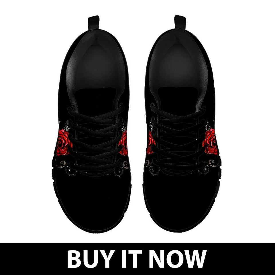 Black Rose Kid's Running Shoes - - Ineffable Shop