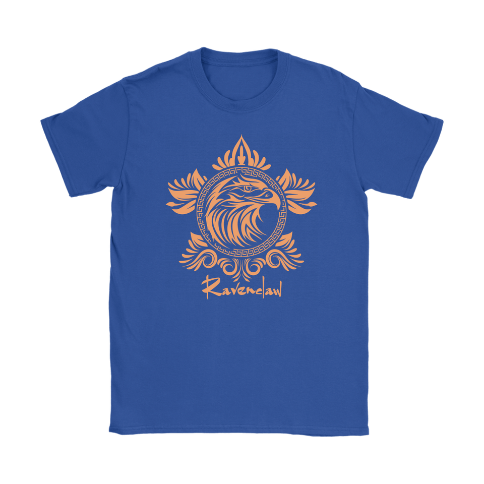 Harry Potter Vintage Ravenclaw Gildan Womens T-Shirt - Gildan Womens T-Shirt / Royal Blue / S - Ineffable Shop