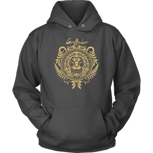 Harry Potter Vintage Gryffindor Badge Unisex Hoodie - Unisex Hoodie / Charcoal / S - Ineffable Shop