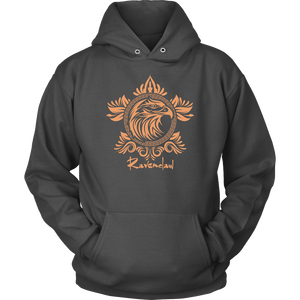 Harry Potter Vintage Ravenclaw Unisex Hoodie - Unisex Hoodie / Charcoal / S - Ineffable Shop