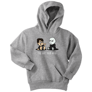 I've Got Your Nose Youth Hoodie - Youth Hoodie / Athletic Heather / XS - Ineffable Shop