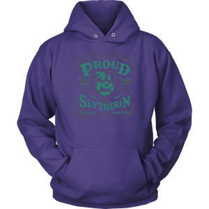 Slytherin Unisex Hoodie - Unisex Hoodie / Purple / S - Ineffable Shop