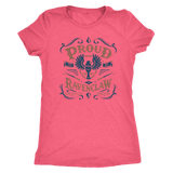 Ravenclaw Pride Next Level Womens Triblend - Next Level Womens Triblend / Vintage Light Pink / S - Ineffable Shop