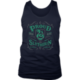 Slytherin District Mens Tank - District Mens Tank / Navy / S - Ineffable Shop