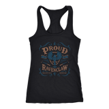 Ravenclaw Pride Next Level Racerback Tank - Next Level Racerback Tank / Black / XS - Ineffable Shop
