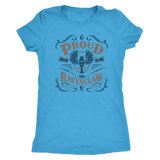 Ravenclaw Pride Next Level Womens Triblend - Next Level Womens Triblend / Vintage Turquoise / S - Ineffable Shop