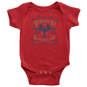 Ravenclaw Pride Baby Bodysuit - Baby Bodysuit / Red / NB - Ineffable Shop