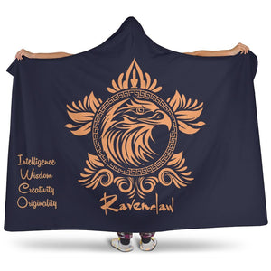 Harry Potter Ravenclaw Hooded Blanket - Ineffable Shop