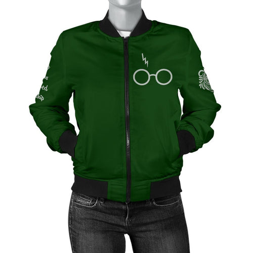 Slytherin Women's Bomber Jacket