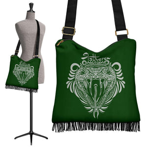 Slytherin Crossbody Boho Handbag - Ineffable Shop