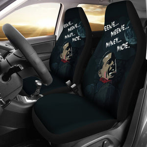 The Walking Dead Negan Lucille Car Seat Covers - Ineffable Shop