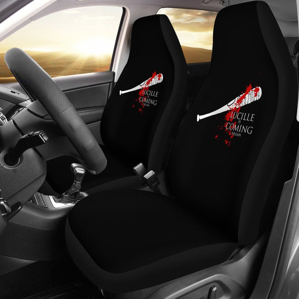 The Walking Dead Lucille Is Coming Car Seat Covers - - Ineffable Shop