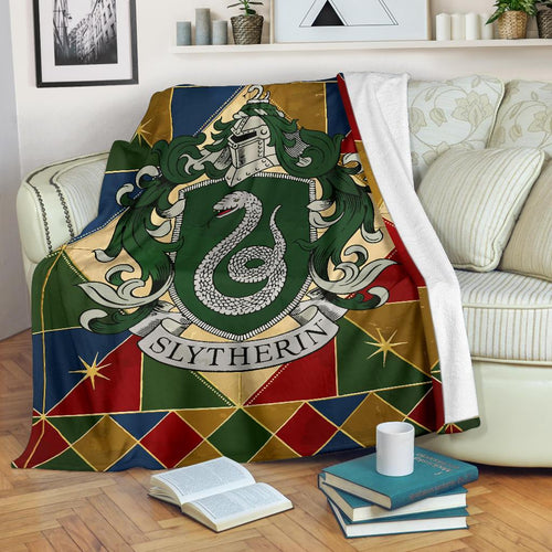 Harry Potter Slytherin Premium Blanket Style 2
