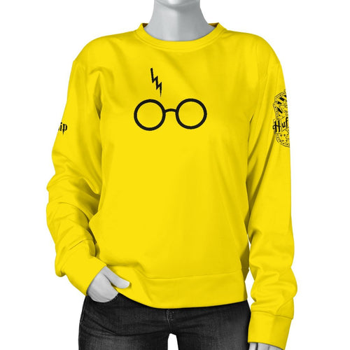 Hufflepuff Women's Sweater - - Ineffable Shop