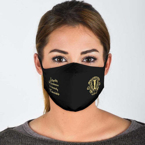 Ineffableshop™ Harry Potter Hufflepuff Face Mask - Ineffable Shop