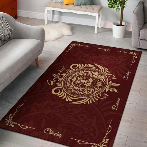 Harry Potter Gryffindor Rug - - Ineffable Shop