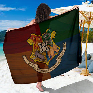 Harry Potter Hogwarts Sarong - - Ineffable Shop