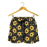 Sunflower And Bee Women's Shorts