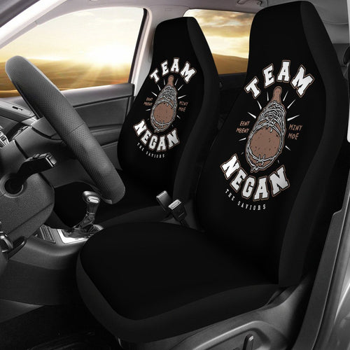 The Walking Dead Team Negan Lucille Car Seat Covers